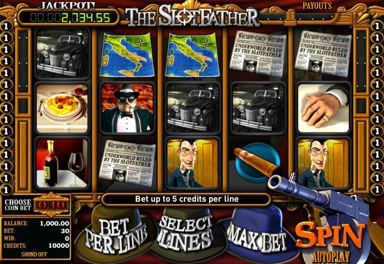 Play Slotfather The Mafia Slot